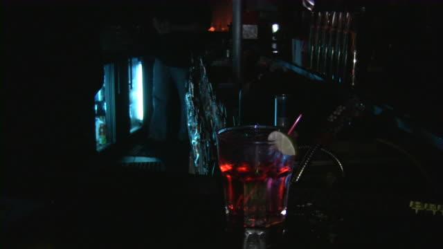 Bar, pub, restaurant, night club scene.