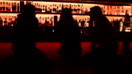 MS Bar Scene with a Woman and Two Men