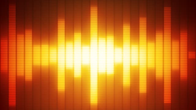 EQ Bar Waveform RED ORANGE