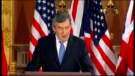 Barack Obama and Gordon Brown press conference at Foreign Office Gordon Brown speech continues SOT There are really five tests for the G20 summit...