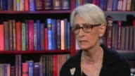 Barack Obama's last presidential State of the Union address USA Washington D Wendy Sherman interview SOT