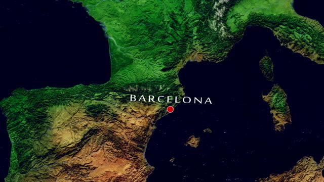 Barcelona 4K Zoom In