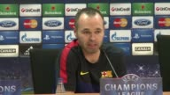 Barcelona midfielder Andres Iniesta is hopeful his side can cope without the presence of Lionel Messi for the second leg of their Champions League...