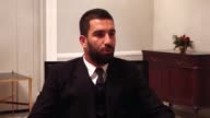 Barcelona midfielder Arda Turan speaks during an exclusive interview in Madrid Spain on December 15 2016 Turan expresses his feeling about victims of...