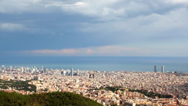 Barcelona - windy day