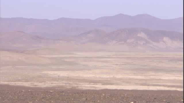 Barren Atacama desert, Chile