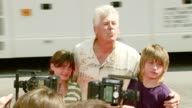 Barry Bostwick and family at the 'Nancy Drew' Premiere at Grauman's Chinese Theatre in Hollywood California on June 10 2007