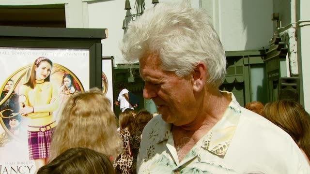 Barry Bostwick on his character how he got involved in the film and his familiarity with the Nancy Drew books at the 'Nancy Drew' Premiere at...