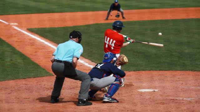 Baseball Junior Match Infield Scene