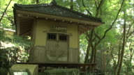 Basho-do Hut In Kakusenkei Gorge, Japan