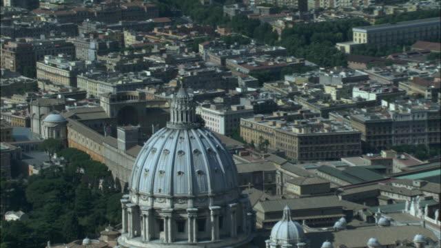 AERIAL, Basilica of Saint Peter, Vatican City, Rome, Italy