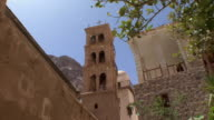 WS LA ZI Basilica of Transfiguration and Fatimid Mosque in St Catherine's Monastery, Mount Sinai, Egypt