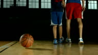 HD DOLLY: Basketball Bouncing Off The Floor