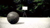 HD DOLLY: Basketball On The Playing Field