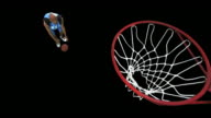 Basketball Player dribble/dunk