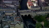 Bath  - Aerial View - England, Bath and North East Somerset, United Kingdom