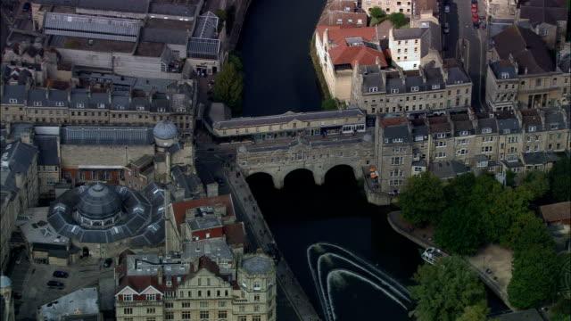 Bath  - Aerial View - England, Bath and North East Somerset, United Kingdom