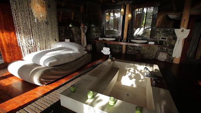 MS Bathroom of hotel / North Island, Seychelles