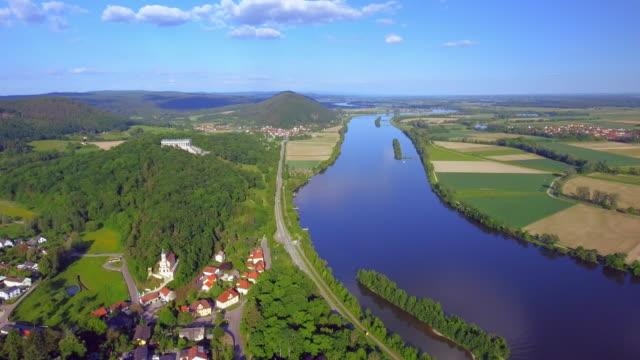 Bavarian Danube Valley And Walhalla Memorial