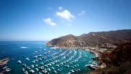 Bay und Town of Avalon auf Catalina Island