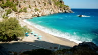 HD: Beach Achata on Karpathos, Greece