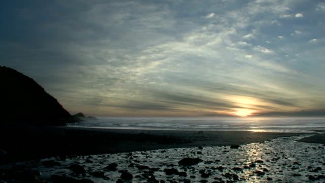 Beach at sunset / sunrise #3