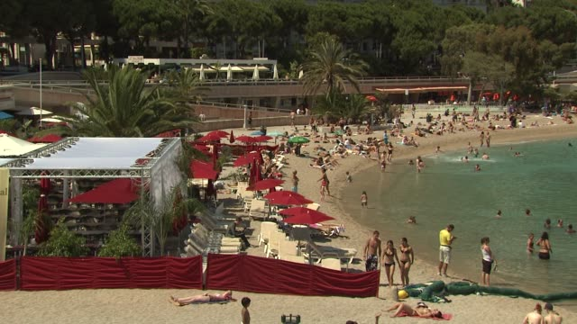 Beach at the Monte Carlo Television Festival 2009 Atmosphere at Monaco