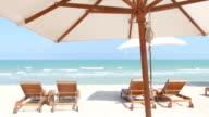 Beach bed deck