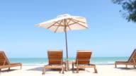 Spiaggia letto