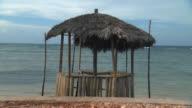 WS Beach hut near ocean / Montego Bay, Jamaica