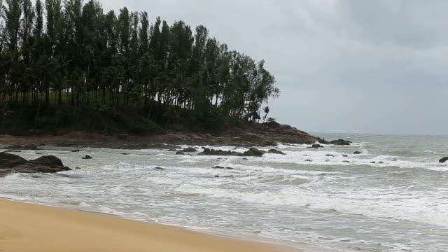 Beach in daytime.