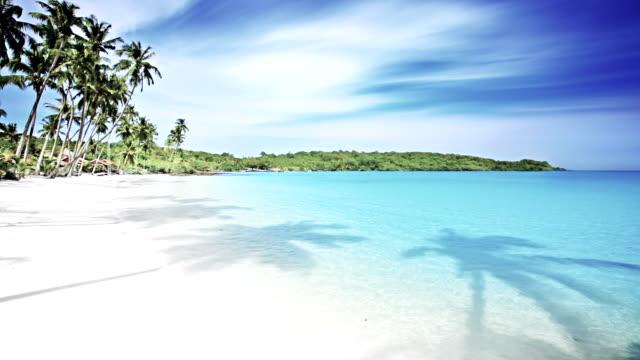 strand op het eiland