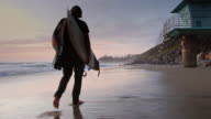 Beach Stroll at Sunset