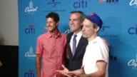 Beastie Boys and Mayor Eric Garcetti at ArcLight Cinemas on August 05 2015 in Hollywood California