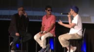 SPEECH Beastie Boys and Zane Lowe at ArcLight Cinemas on August 05 2015 in Hollywood California