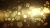 Beautiful Background Loop - Golden Yellow (Full HD)