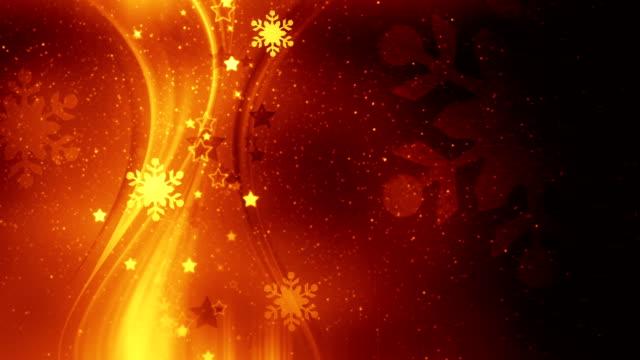 Beautiful Christmas background loop