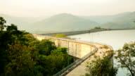 Beautiful dam in Thailand