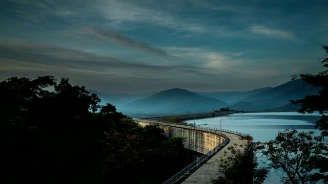 Beautiful dam in Thailand.