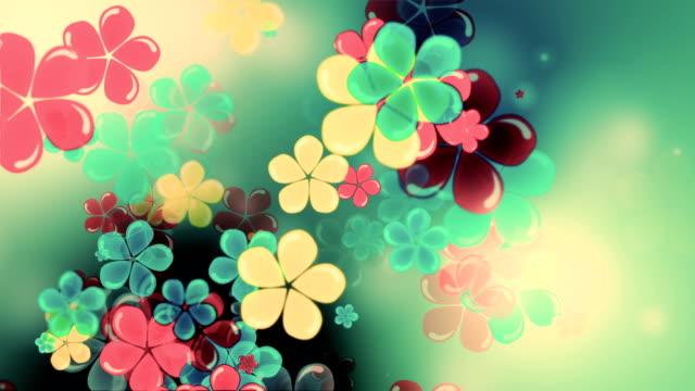Beautiful flowers motion loop