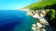 AERIAL Beautiful Island Hvar