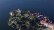 Beautiful Isola Bella island on Lake Maggiore