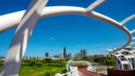 beautiful modern city