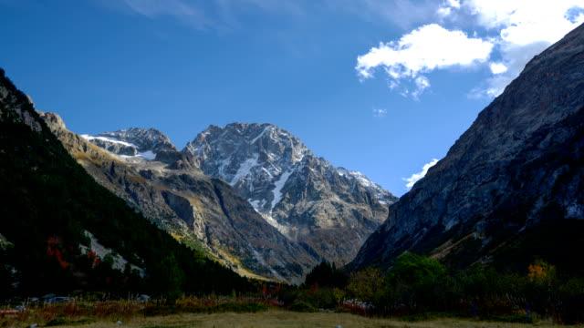 Beautiful Mountain Landscape Timelapse
