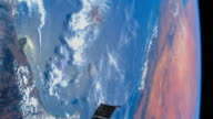 Beautiful Planet Earth from Space, POV from the International Space Station (ISS) during the day