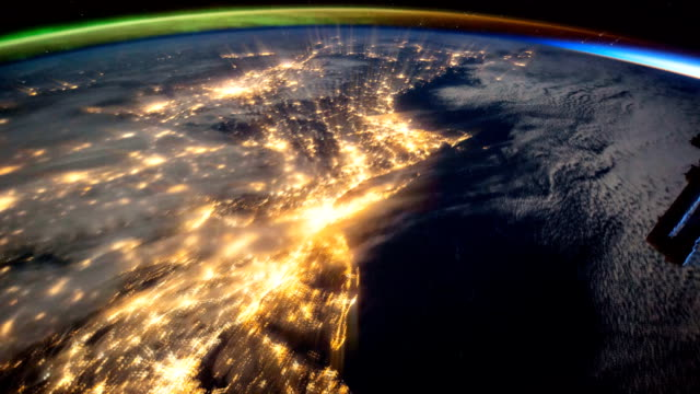 Beautiful Planet Earth seen from the International Space Station, ISS