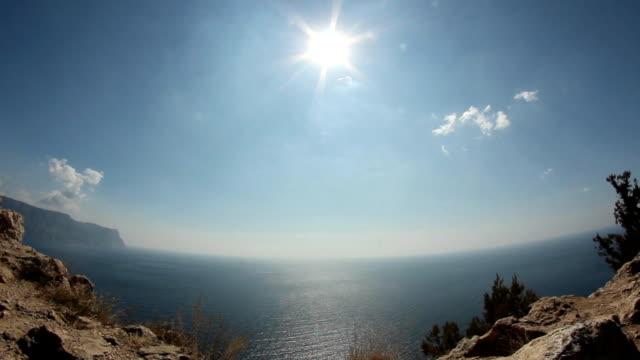Schönen Blick aufs Meer