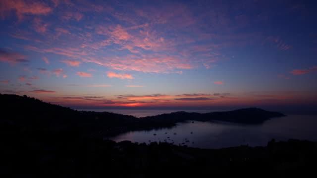 Beautiful Sunrise in Cote d'Azur