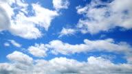 Wunderschöne Zeitraffer von Wolkengebilde