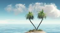 Schönheit der Insel.